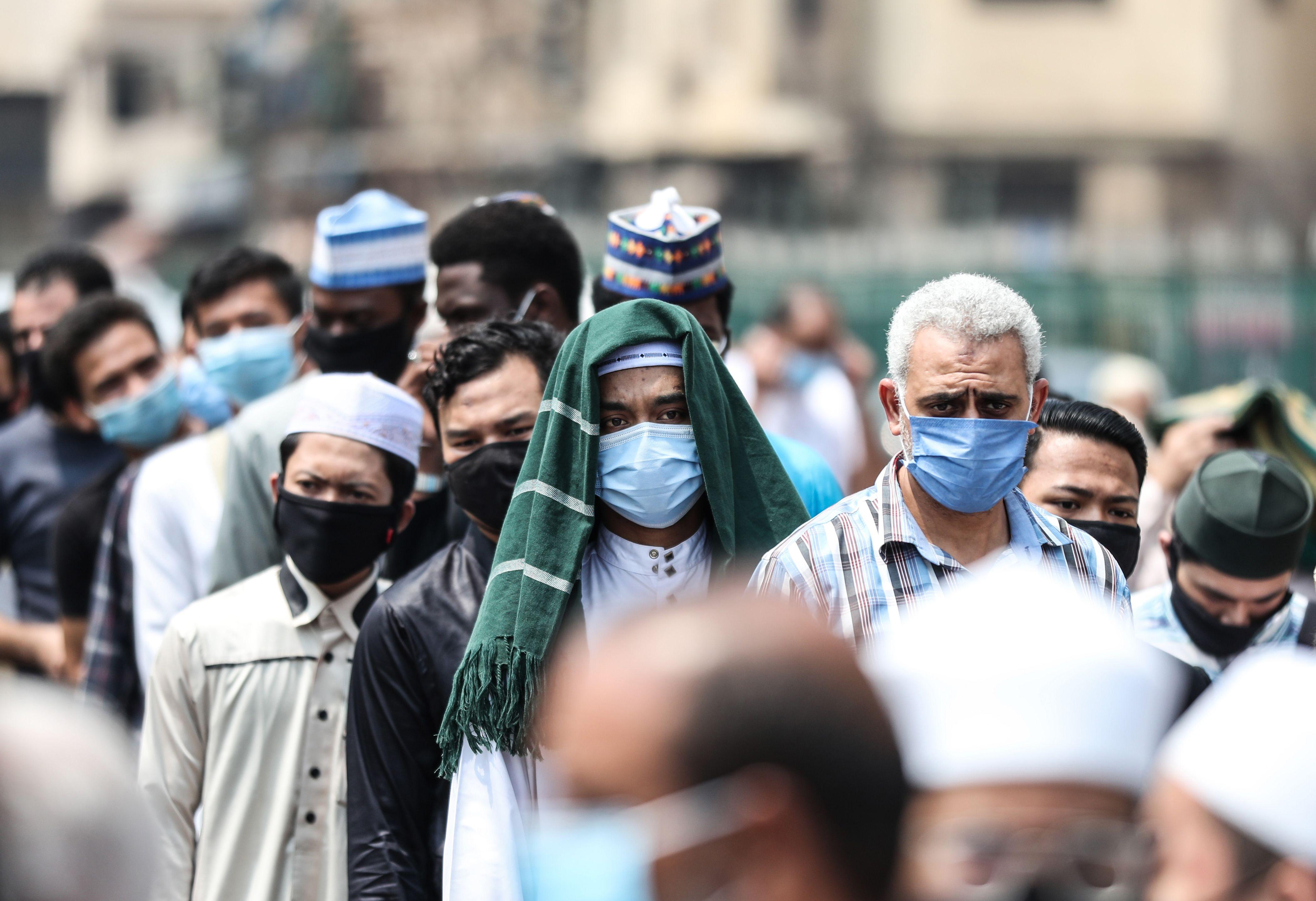"""صندوق """"تحيا مصر"""" يموّل اللقاحات (محمد الشاهد/ فرانس برس)"""