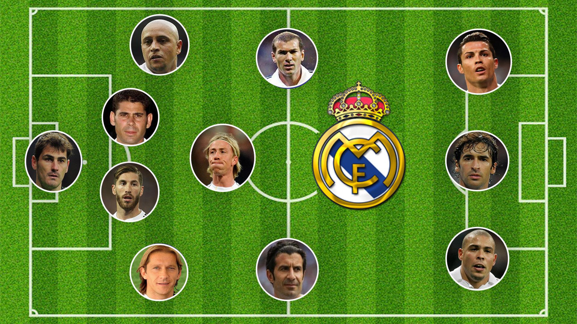 تشكيلة ريال مدريد 2002