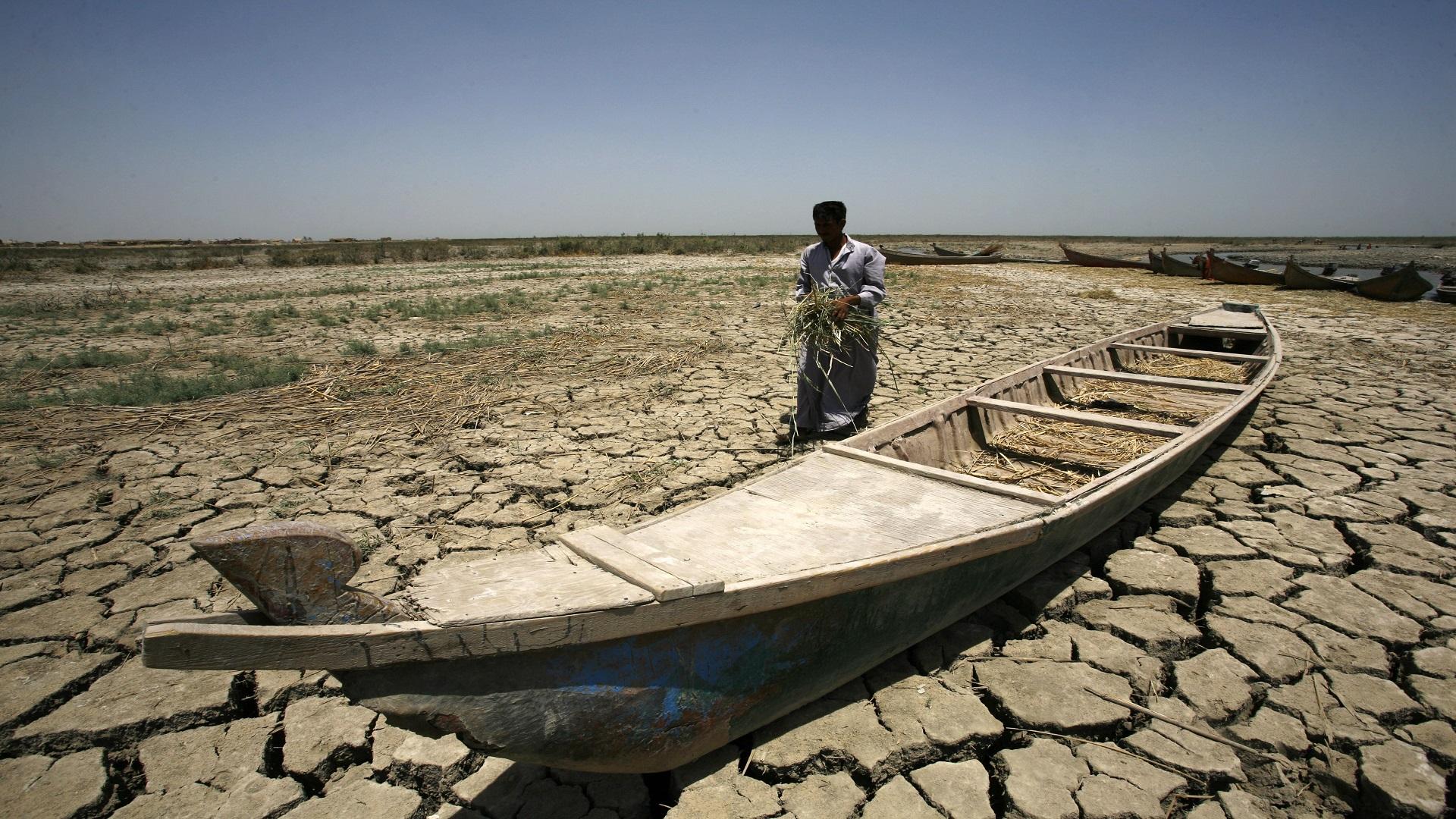 العراق يأمل بحل مشكلة الحصة المائية مع إيران او رفع دعوى في المحكمة الدولية في لاهاي