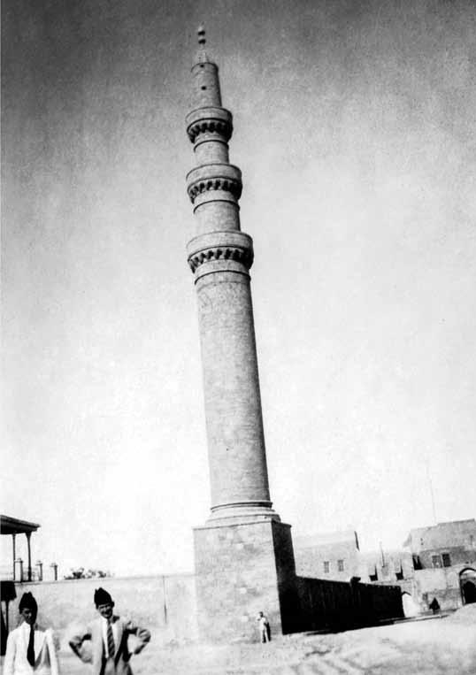 إحسان القيماقجي، مئذنة في الموضل عام 1929