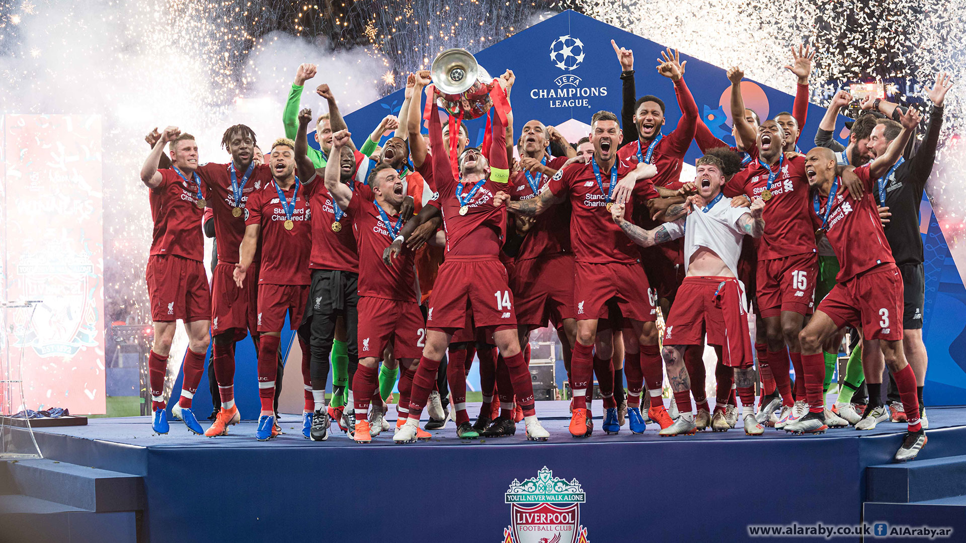 ليفربول بطل دوري أبطال أوروبا 2018/2019
