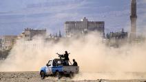 سياسة/اشتباكات اليمن/(محمد حويس/فرانس برس)