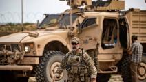 القوات الأميركية في حقل العمر النفطي -دليل سليمان/فرانس برس
