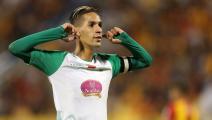 المغربي بدر بانون يخلق الحدث بعد نهاية مباراة الرجاء والزمالك