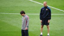 Getty-Barcelona Training & Press Conference - UEFA Champions League Final