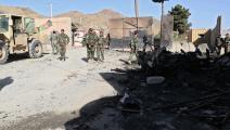 سياسة/هجوم بأفغانستان/(فرانس برس)
