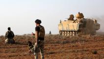 قوات مدعومة من تركيا في رأس العين/سورية-نذير الخطيب/فرانس برس