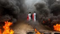 تظاهرات العراق-حسين فالح/فرانس برس