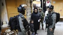 قوات الاحتلال الاسرائيلي-حازم بدر/فرانس برس