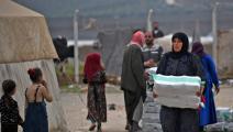 المساعدات الانسانية إلى سورية-رامي السيد/فرانس برس
