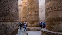 معبد الكرنك في الأقصر في مصر (فرانس برس)