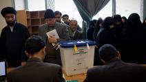 سياسة/الانتخابات الإيرانية/(بهروز مهري/فرانس برس)