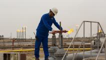 الغاز الطبيعي في العراق (فرانس برس)