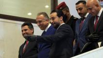 مصطفى الكاظمي/محمد الحلبوسي-مرتضى السوداني/الأناضول