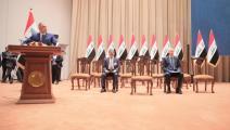 سياسة/الكاظمي بالبرلمان العراقي/(الأناضول)