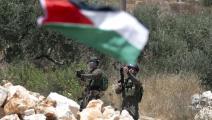 سياسة/أراضي فلسطينية/(جعفر اشتية/فرانس برس)