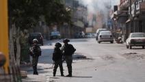 قوات الاحتلال الاسرائيلي/الضفة الغربية-مامون وظوظ/الأناضول
