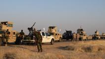 قوات البشمركة والقوات العراقية-أوزين جولا/الاناضول