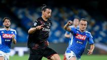 Napoli v AC Milan - Serie A