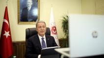 وزير الدفاع التركي خلوصي أكار-عارف أكدوغان/الأناضول