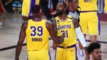 السلة الأميركية: لايكرز وباكس يردان بقوة واصابة مقلقة لليلارد