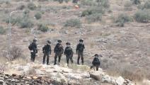 قوات الاحتلال الاسرائيلي-عصام ريماوي/الأناضول