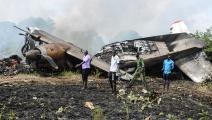 سياسة/تحطم طائرة جنوب السودان/(ديفيد دال مالوال/فرانس برس)