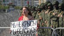 تظاهرات بيلاروسيا-Getty