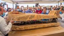 اكتشاف مصري كبير في منطقة سقارة، لآثار تعود للأسرة الـ26 (Getty)
