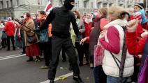سياسة/احتجاجات بيلاروسيا/(فرانس برس)