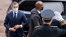 وزير الداخلية الفرنسي-لودوفيتش مارين/فرانس برس