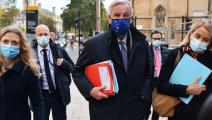 كبير مفاوضي الاتحاد الأوروبي بشأن خروج بريطانيا ميشال بارنييه (فرانس برس)