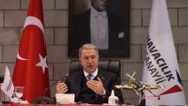 Turkish Defense Minister Hulusi Akar...
