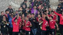 فوز النادي الأهلي المصري بنهائي دوري الأبطال في أفريقيا (Getty)