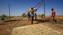 لاجئون إثيوبيون في السودان (فرانس برس)