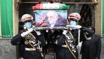 سياسة/تشييع محسن فخري زادة/(الأناضول)