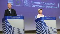 إعلان نتائج مفاوضات بريكست ()الأناضول