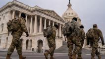 سياسة/استنفار أمني في واشنطن/(كينت نيشيمورا/Getty)