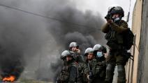 سياسة/قوات الاحتلال الإسرائيلي/(جعفر أشتية/فرانس برس)