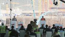"""مراسم وضع حجر أساس محطة """"آق قويو"""" النووية في تركيا (الأناضول)"""