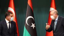 سياسة/أردوغان والدبيبة/(آدم ألتان/فرانس برس)