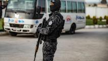 نصر من قوات الأمن الكردية في القامشلي- فرانس برس