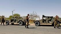 سياسة/جنود الاحتلال قرب ديمونا/(أحمد غربلي/فرانس برس)