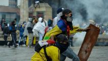 سياسة/احتجاجات كولومبيا/(فانيسا خيمينيز/Getty)