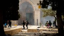سياسة/اعتداءات الاحتلال بالأقصى/(إياد الطويل/الأناضول)
