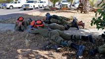 سياسة/جنود الاحتلال في عسقلان/(جاك غويز/فرانس برس)
