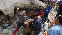 سياسة/العدوان على غزة/(أشرف عمرة/الأناضول)