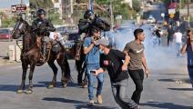 سياسة/اعتداءات الاحتلال في الشيخ جراح/(إيمانويل دوناند/فرانس برس)
