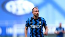 Getty-Christian Eriksen of Fc Internazionale  looks on during the...