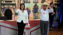 المرشحان لانتخابات البيرو-(مارتن ميجيا/فرانس برس)